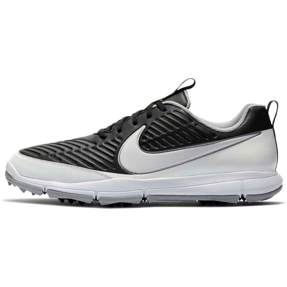 Nike Men's Explorer 2 Black/White Golf Shoe