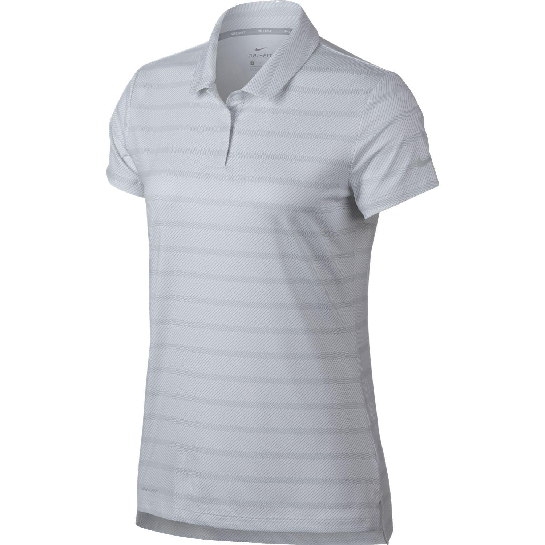 Nike Womens Dry Print Golf Polo
