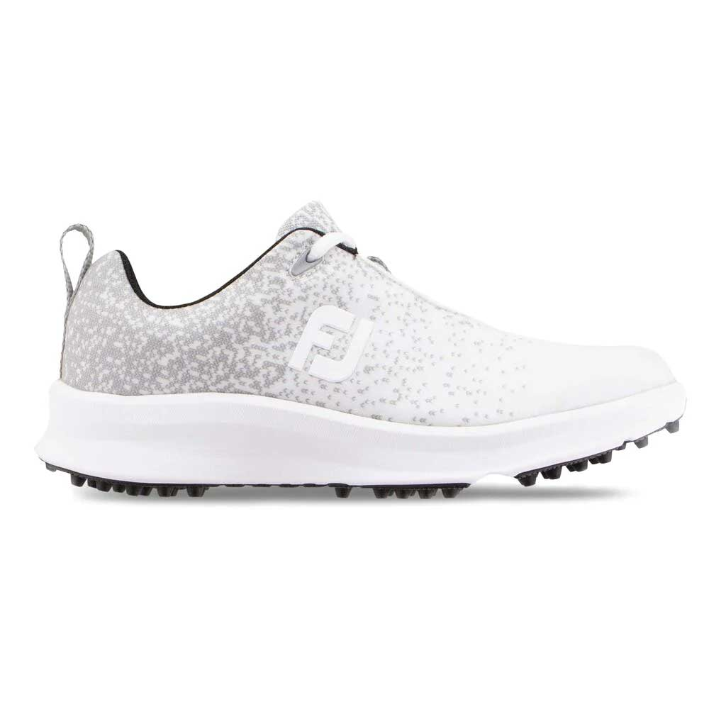 FootJoy Women's FJ Leisure White Golf Shoe - Disc. Style 92922