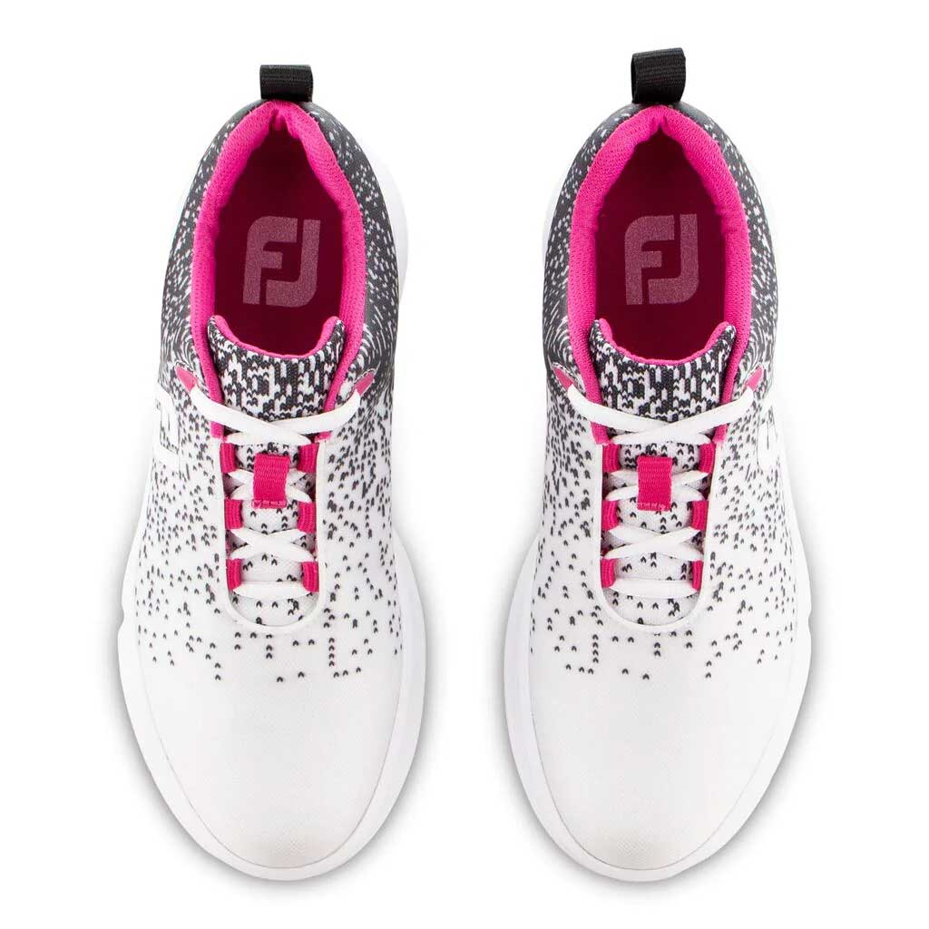 FootJoy Women's FJ Leisure Black/White Golf Shoe