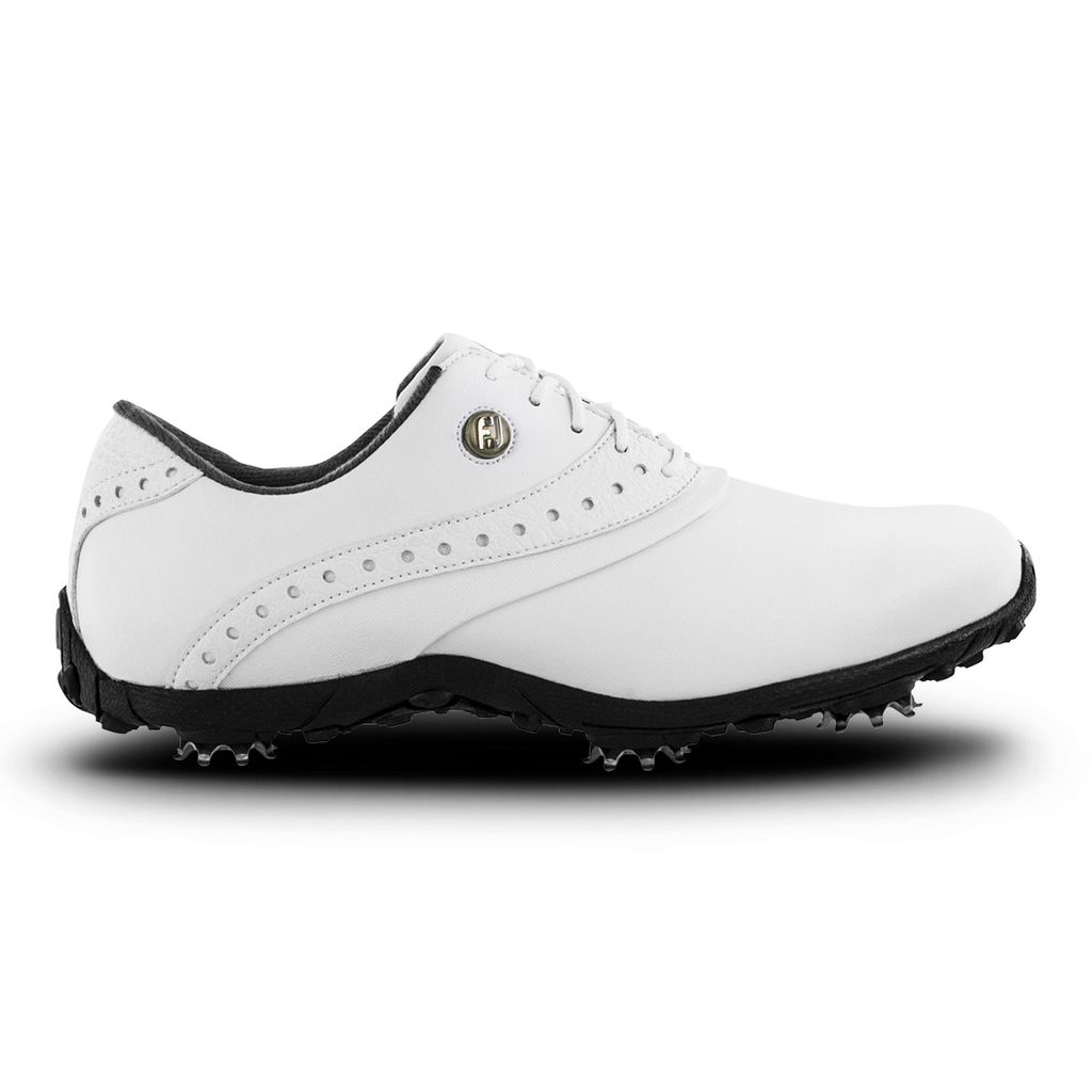 FootJoy Women's LoPro Collection White Golf Shoe (Disc. #93925)