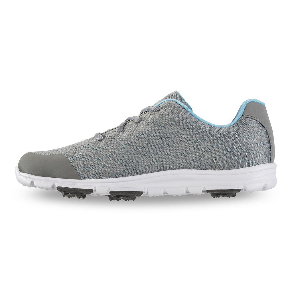 FooJoy Women's enJoy Grey Golf Shoes - Previous Season #95713
