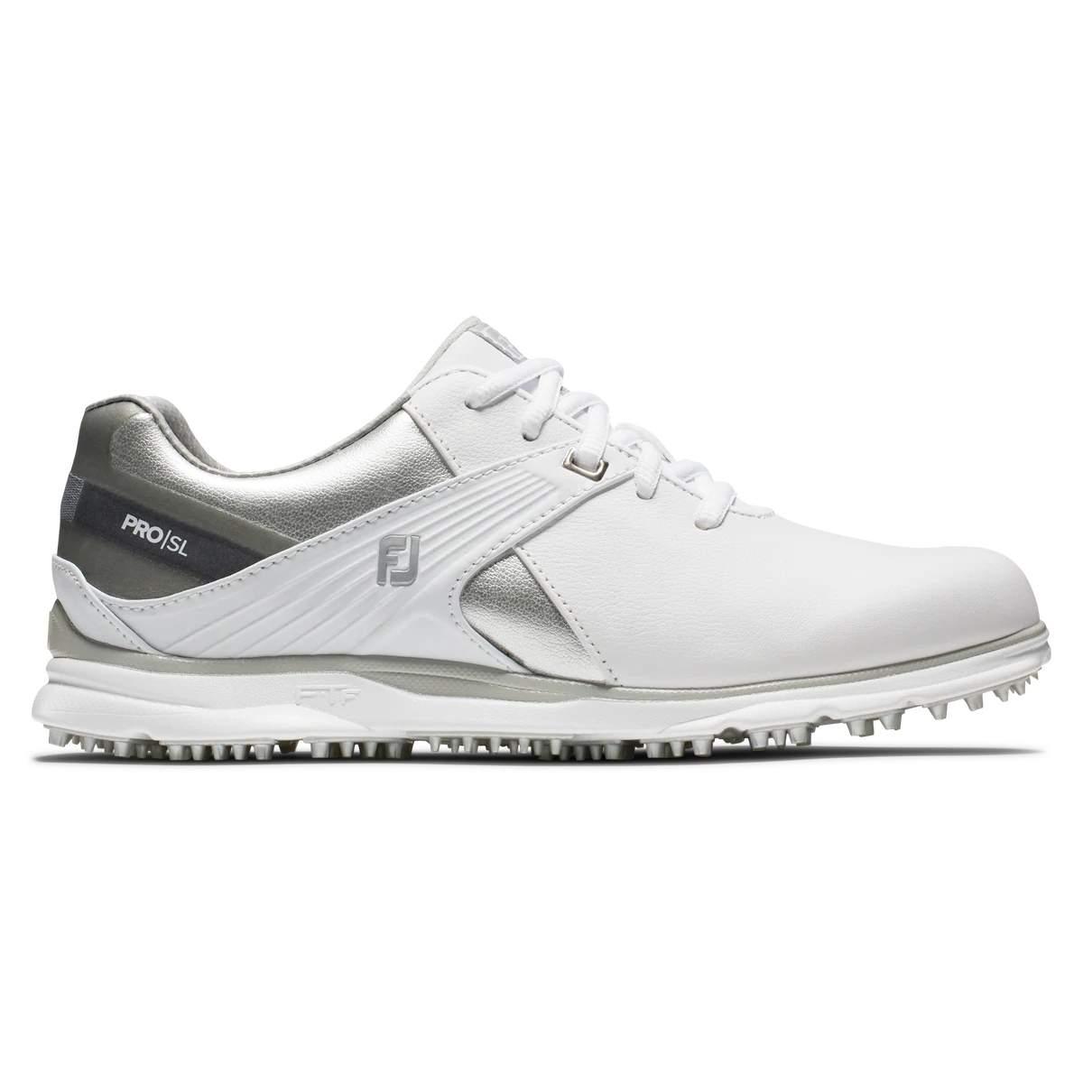 FootJoy Women's Pro|SL White Golf Shoe - Style 98114
