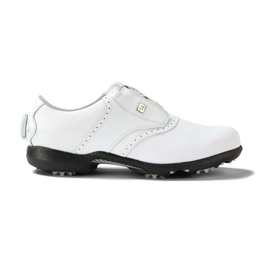 FootJoy Women's DryJoys BOA White Golf Shoe (Disc. #99017)