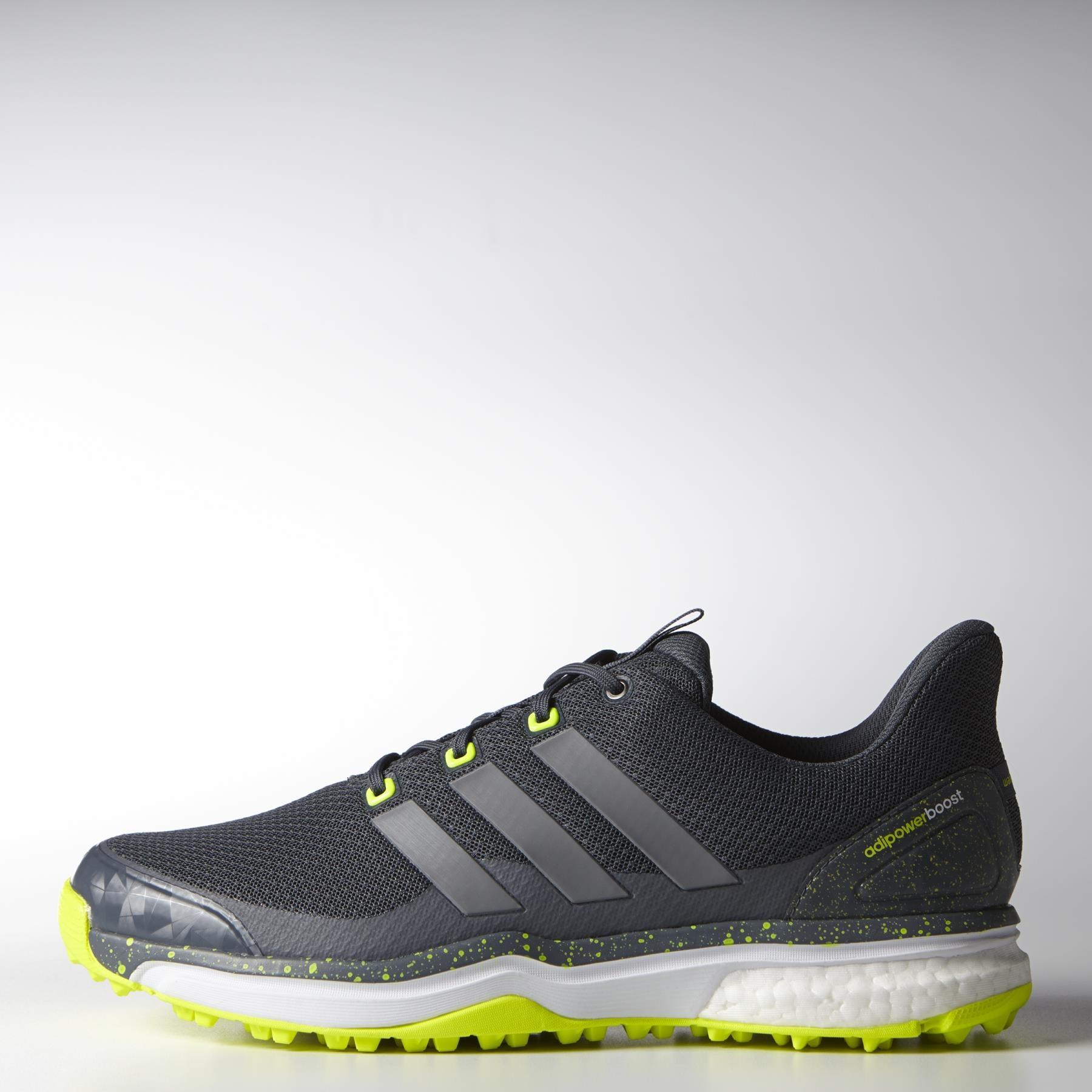 adidas AdiPower Sport Boost 2 Onix/Solar Golf Shoe - Medium Width