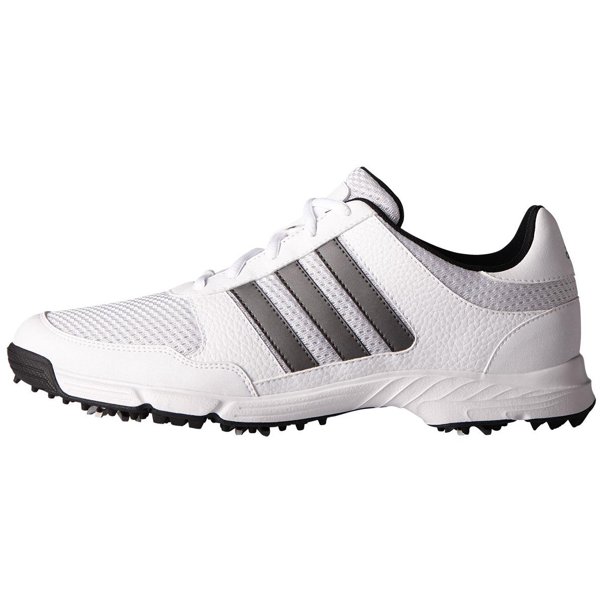 Adidas Men's 2019 Tech Response White/Grey Golf Shoe