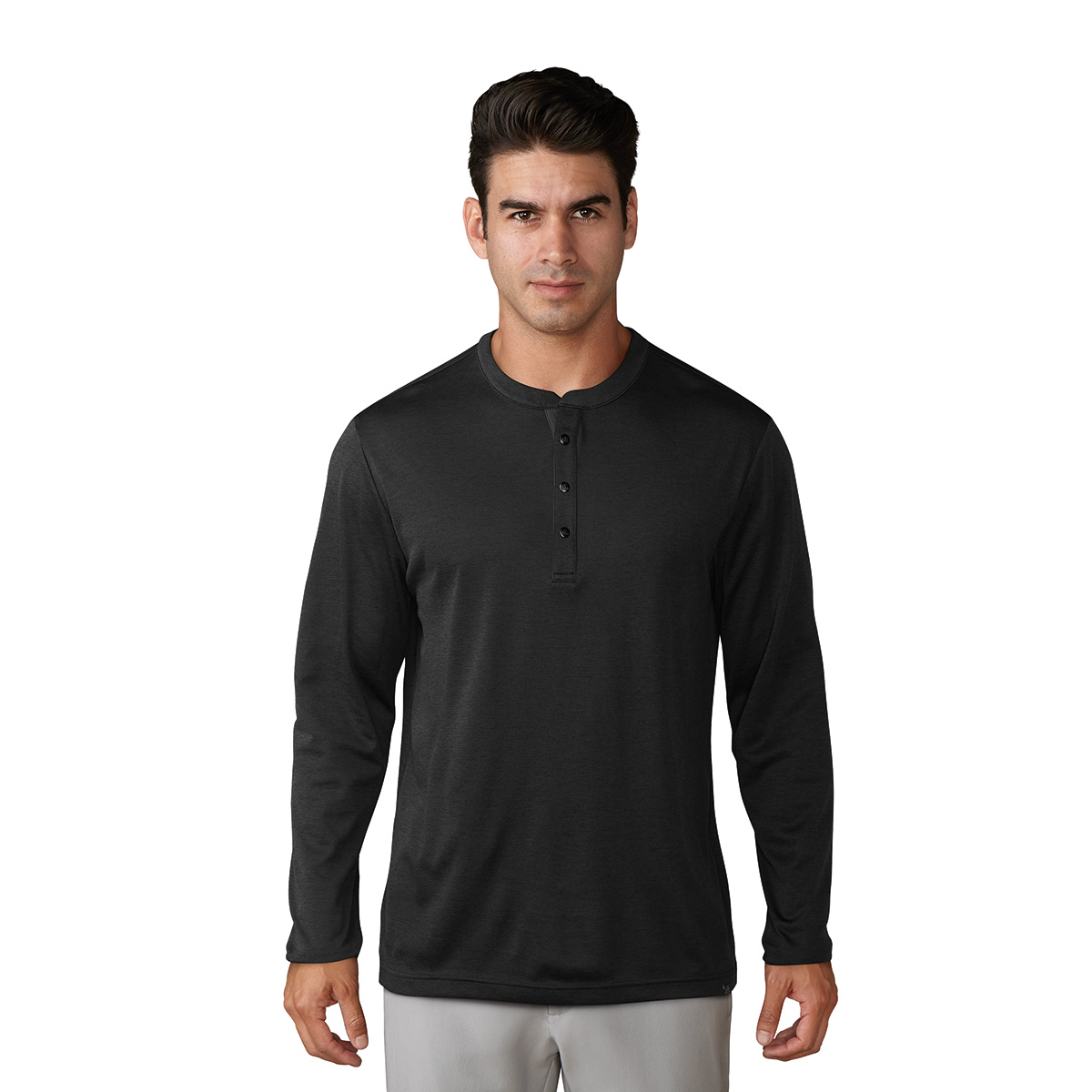 Adidas Men's Adicross No-Show Range Henley Shirt