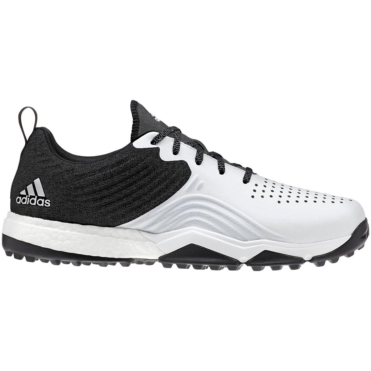 Adidas Men's Adpower 4orged S Black/White Golf Shoe