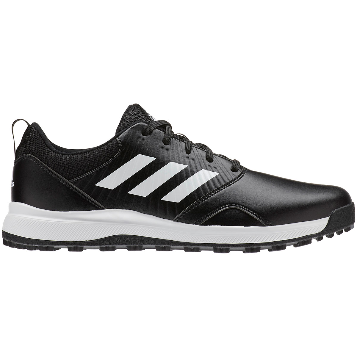 Adidas Men's CP Traxion Spikeless Black/White Golf Shoe