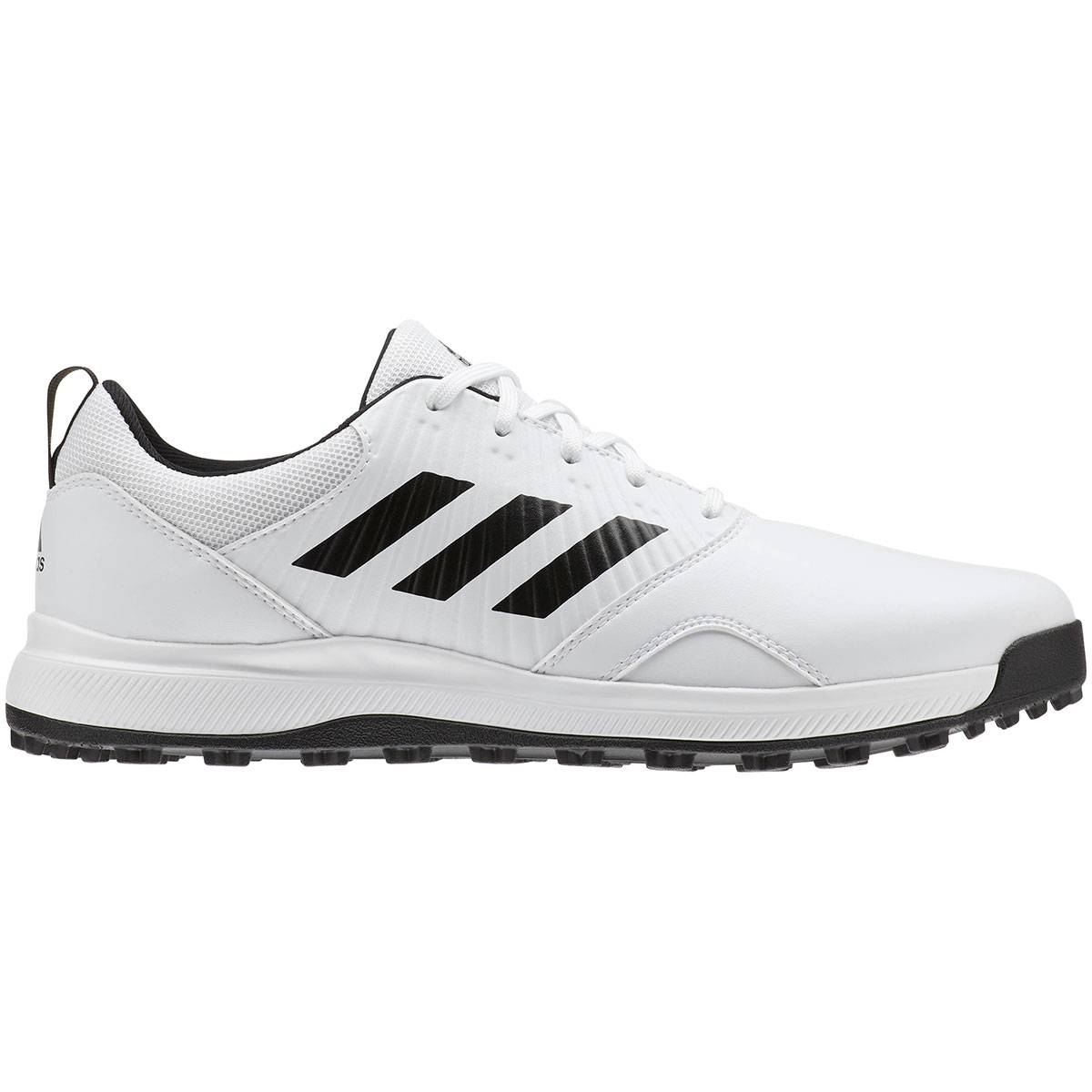 Adidas Men's CP Traxion Spikeless White Golf Shoe