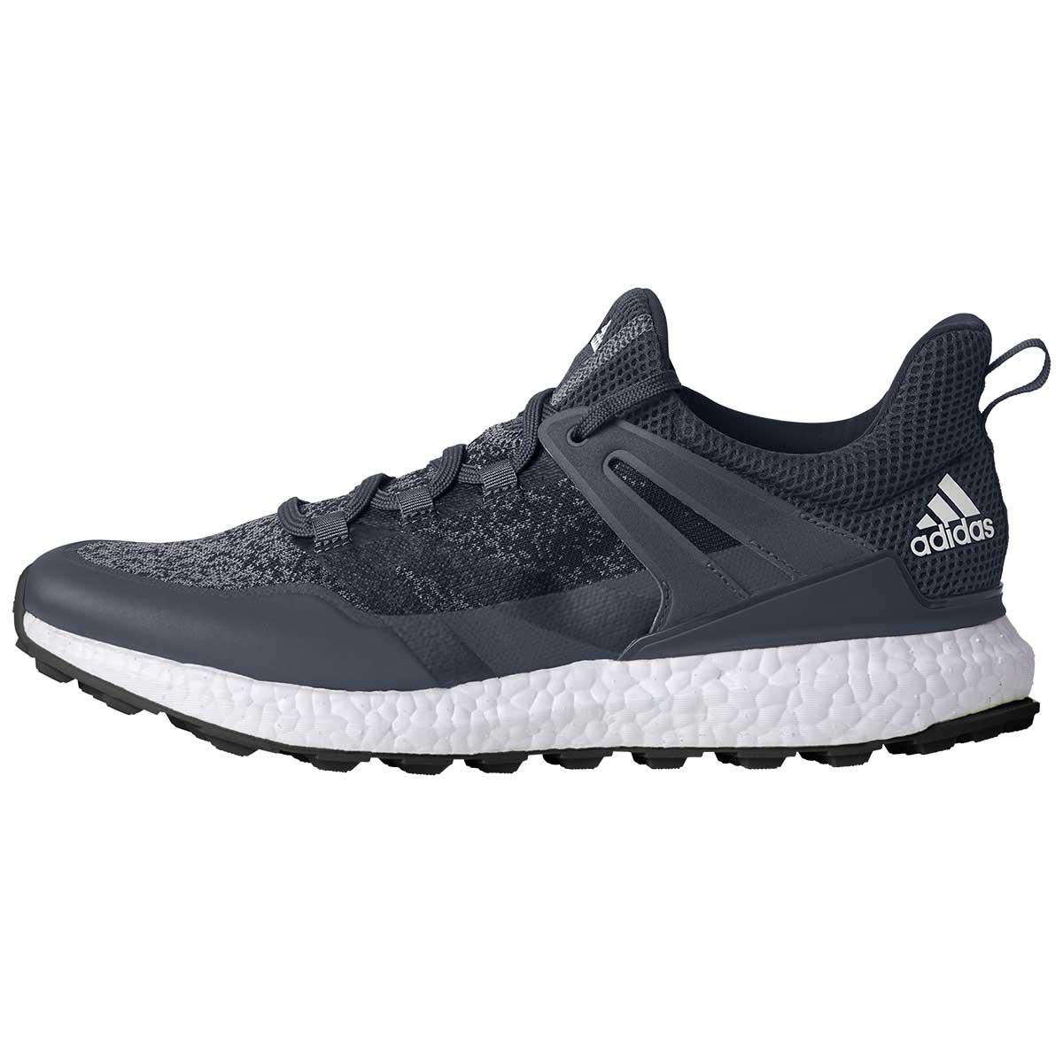 adidas Men's Crossknit Boost Golf Shoe - Grey/Onix/White