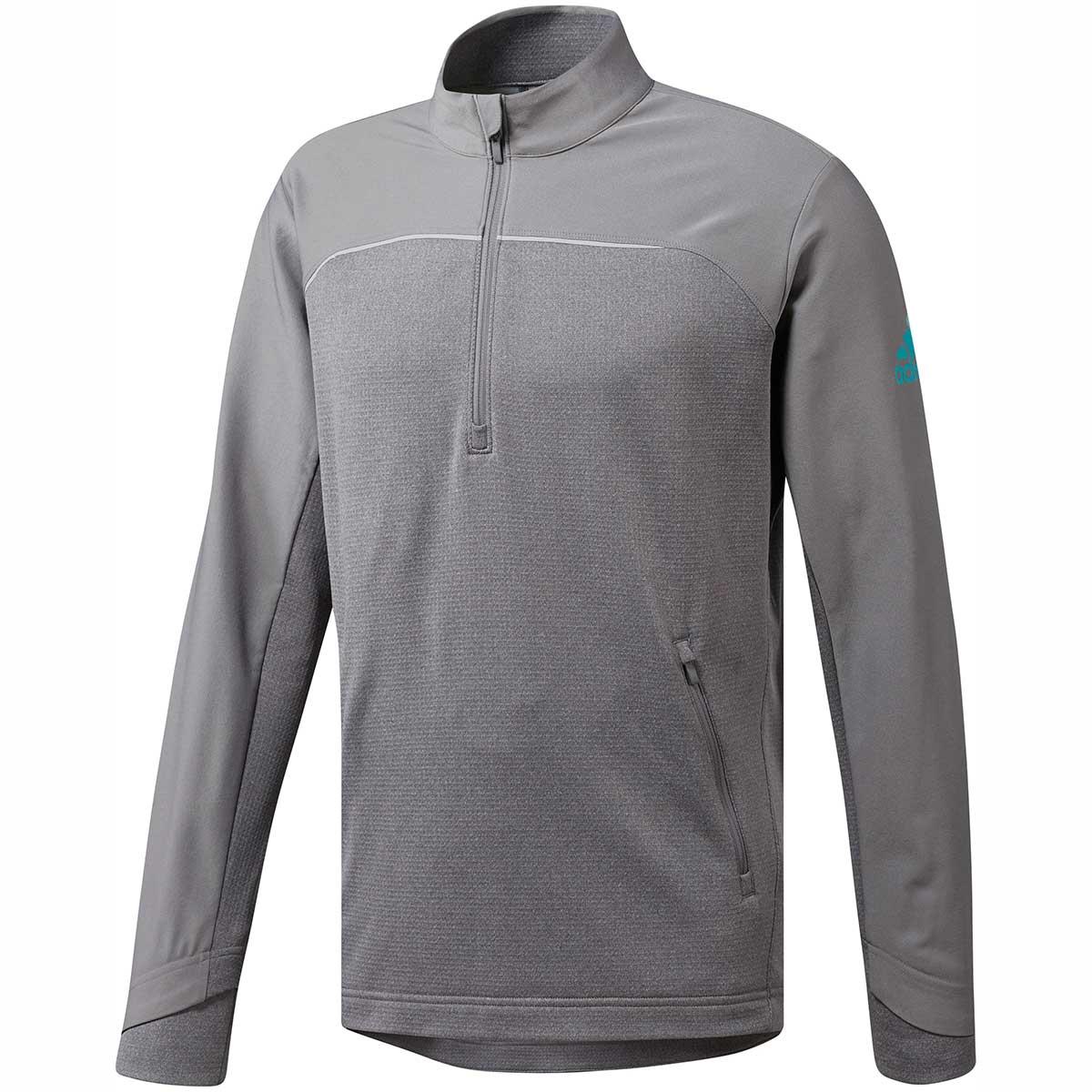 Adidas Men's Go-To Adapt 1/4 Zip Grey Pullover