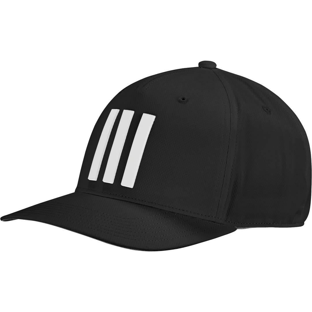 Adidas Men's 3-Stripes Tour Hat - Black
