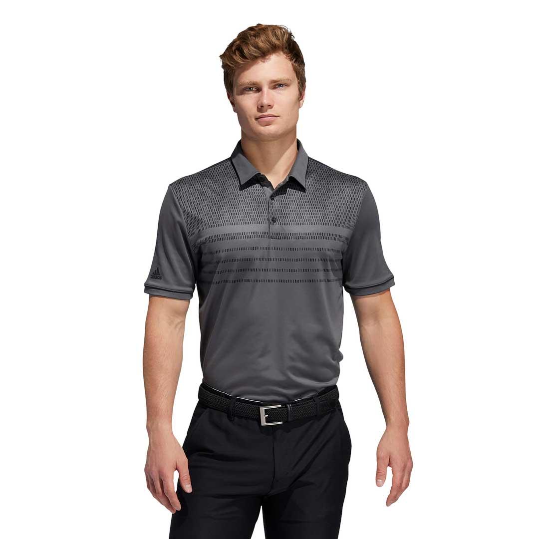 Adidas Men's Core Novelty Grey Polo