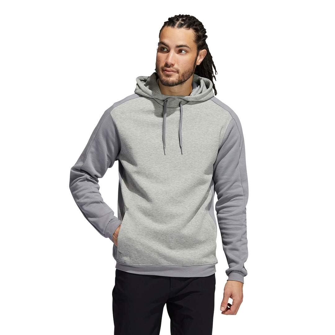 Adidas Men's Go-To Primegreen COLD.RDY Hoodie - Grey
