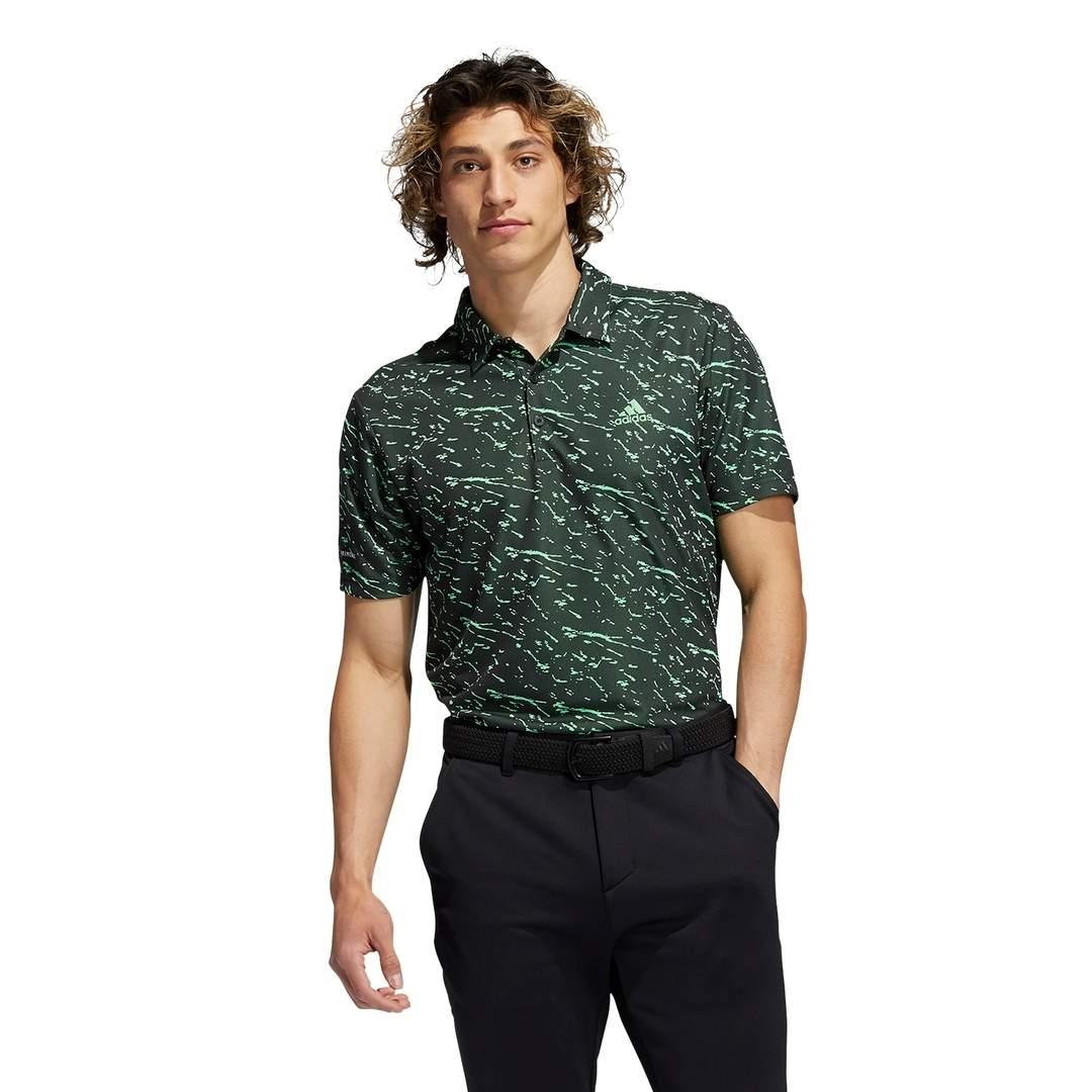 Adidas Men's Primeblue Polo - Black