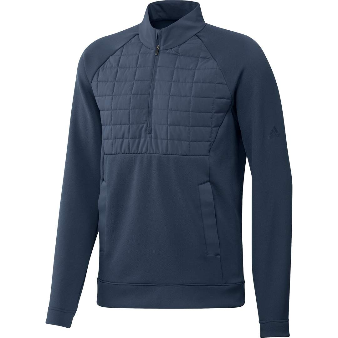 Adidas Men's Quarter-Zip Pullover - Crew Navy