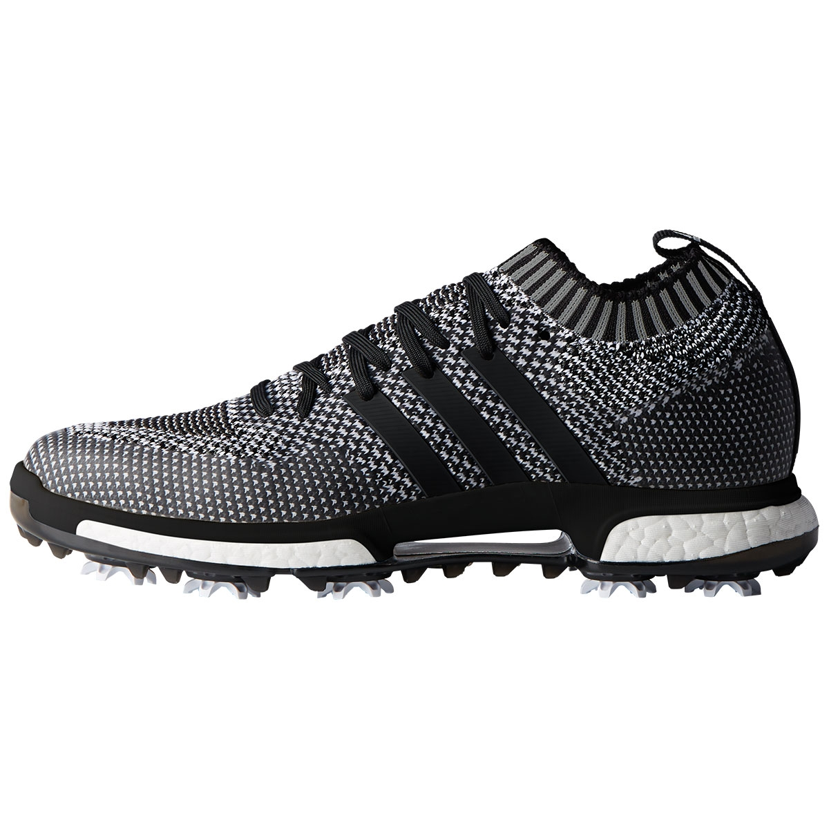 Adidas Mens Tour360 Knit Golf Shoe - Black