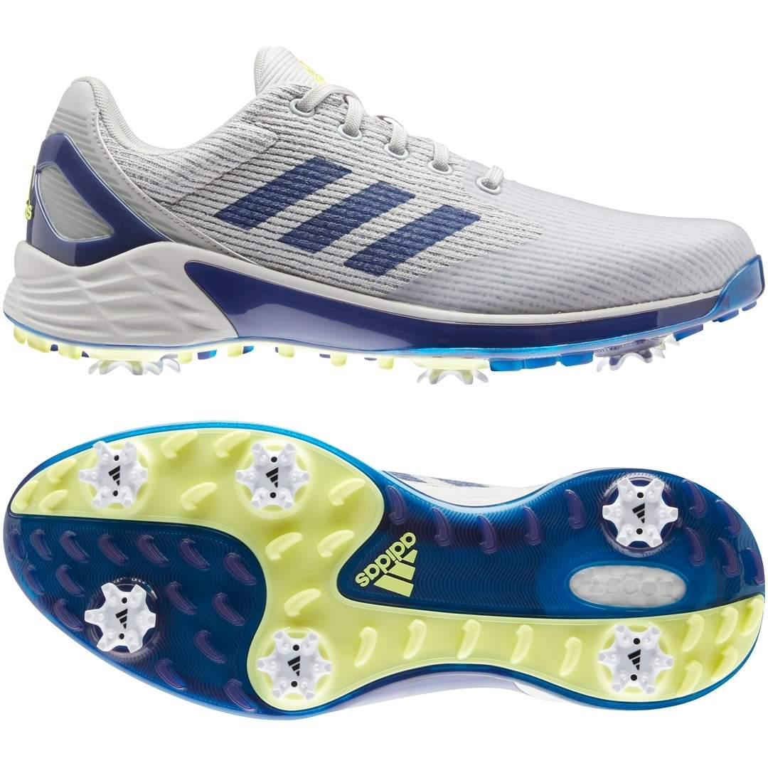 Adidas Men's ZG21 Motion Recycled Polyester Golf Shoe - Grey/Blue