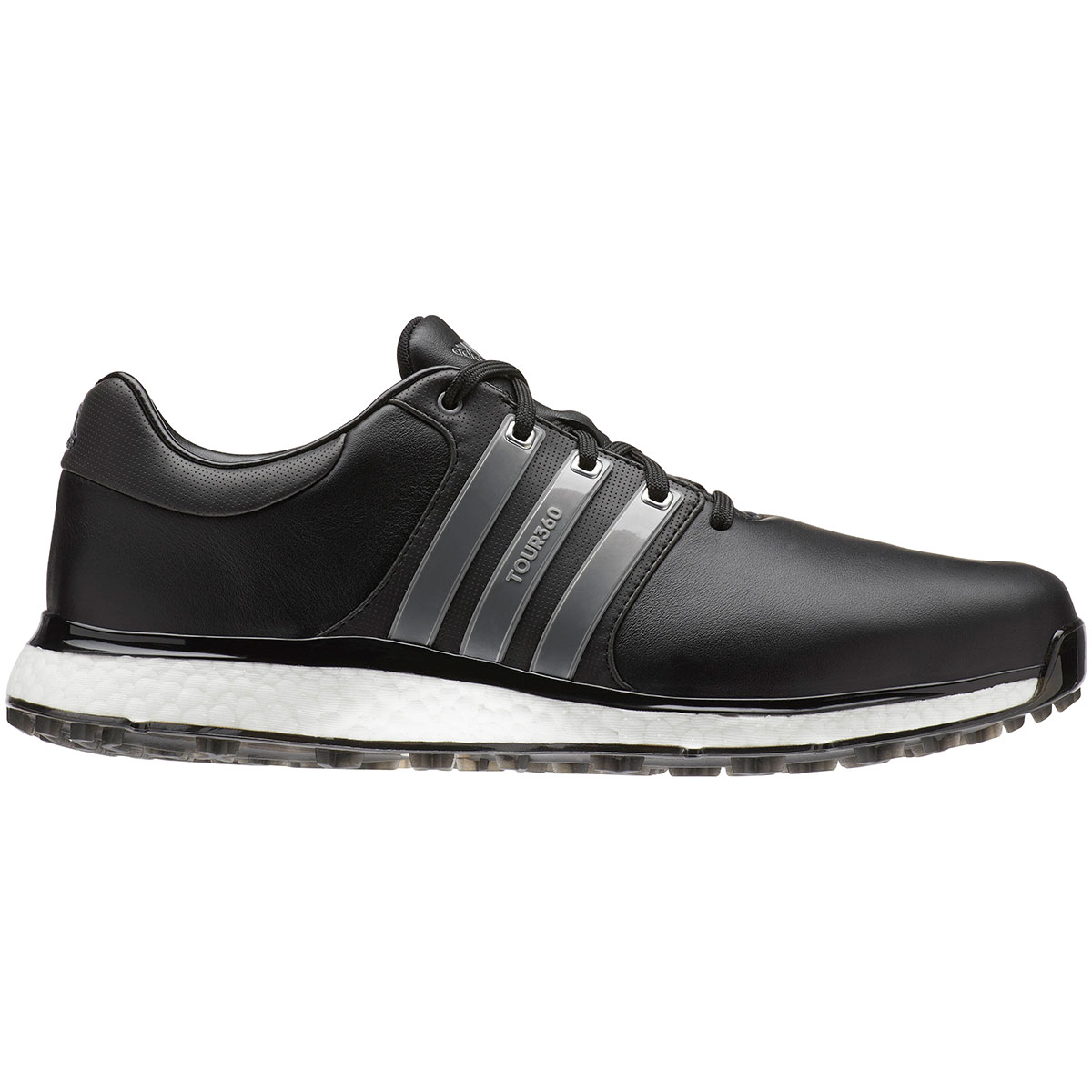 Adidas Tour360 XT Spikeless Black Golf Shoe