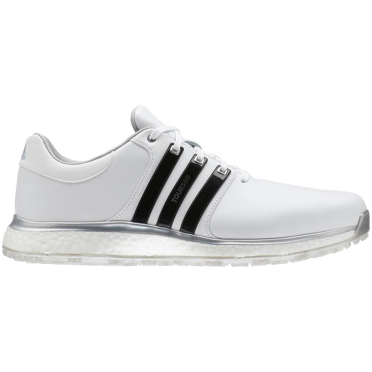 Adidas Tour360 XT Spikeless White/Black Golf Shoe
