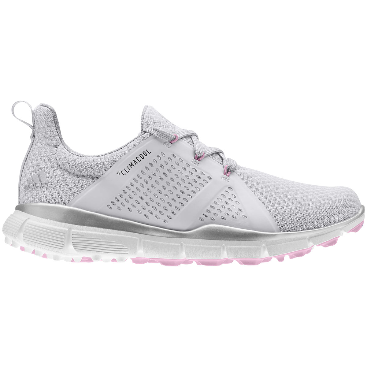 Adidas Women's Climacool Cage White/Grey Golf Shoe