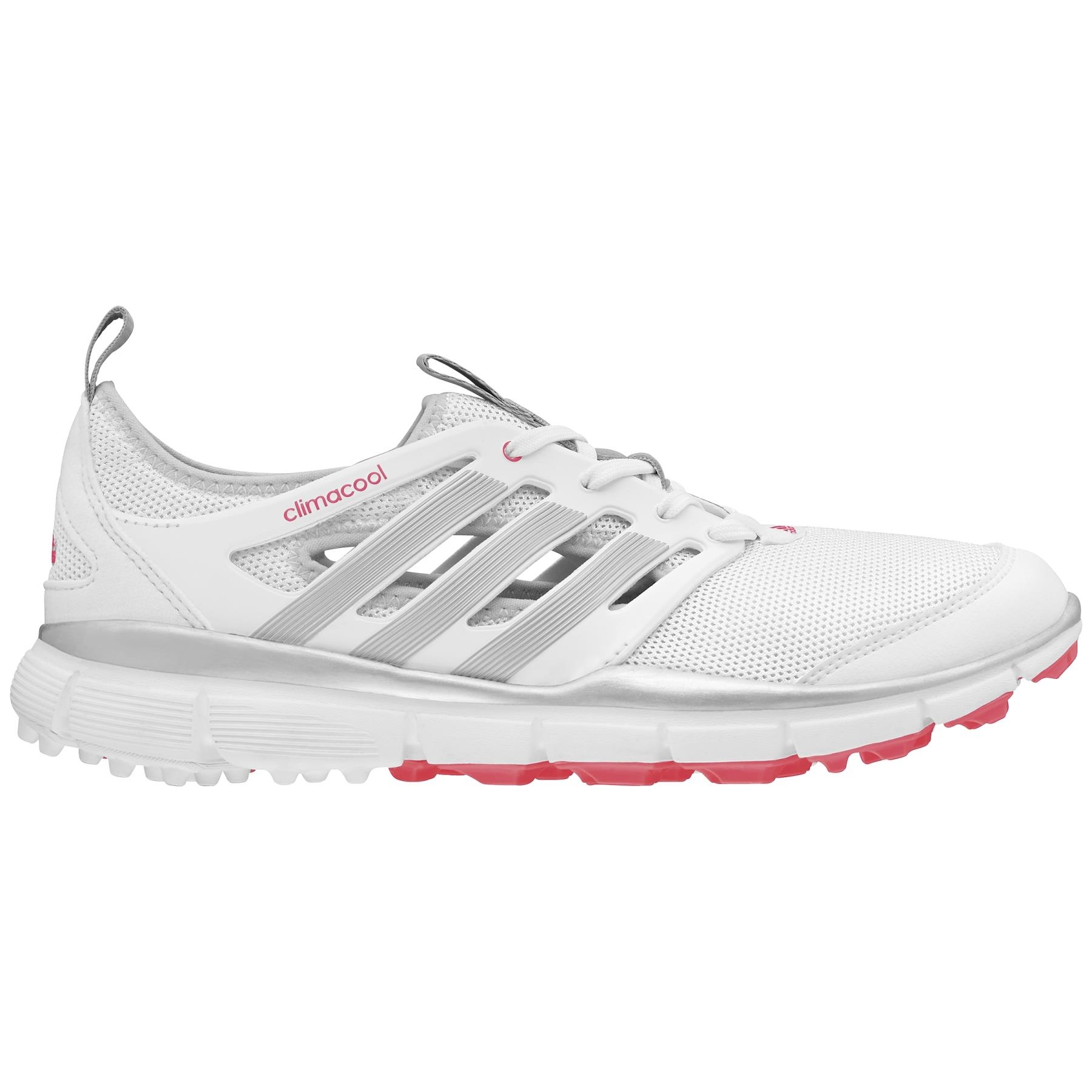 adidas Women's Climacool II White/Silver Golf Shoe