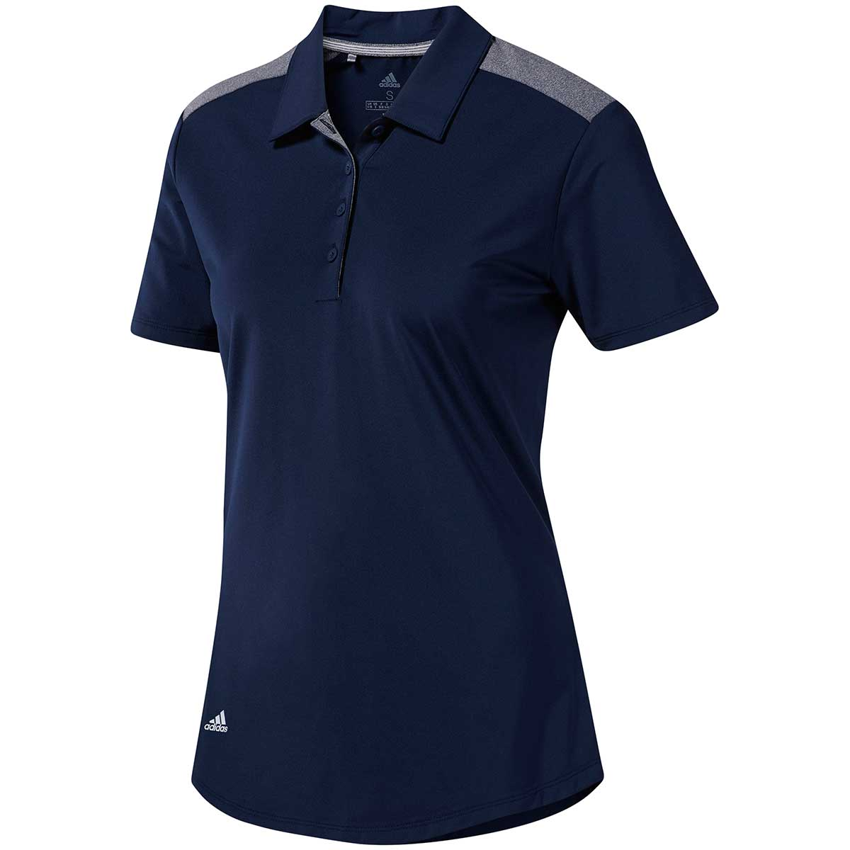 Adidas Women's Ultimate365 Polo Shirt - Night Indigo