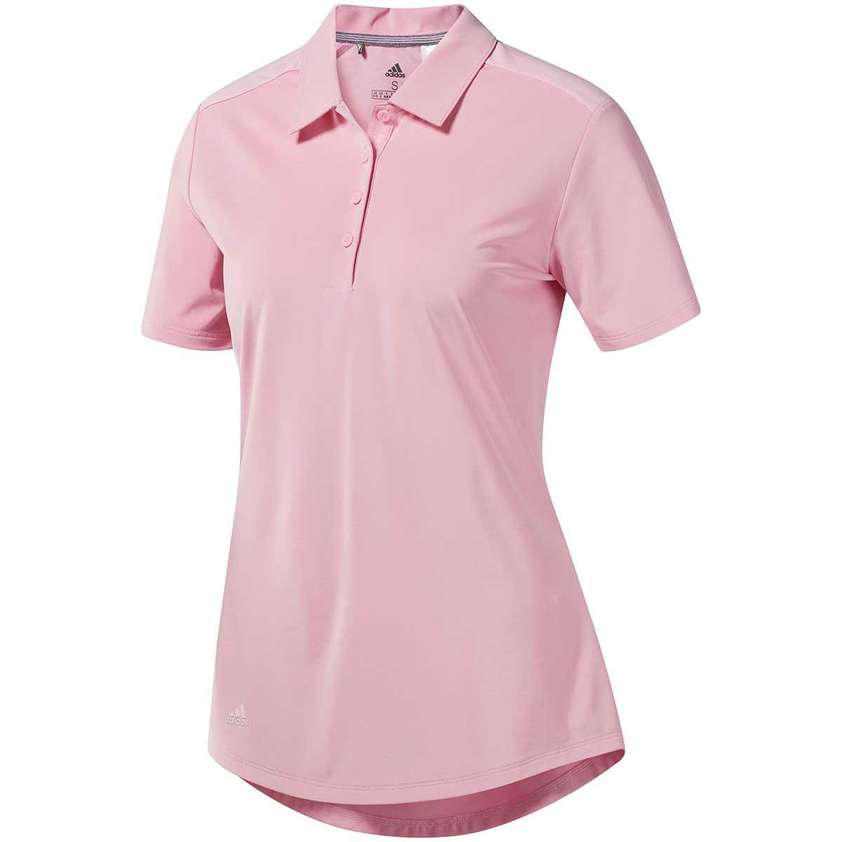 Adidas Women's Ultimate365 Polo Shirt - True Pink
