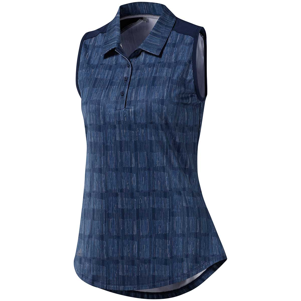 Adidas Women's Ultimate365 Sleeveless Polo Shirt - Night Indigo