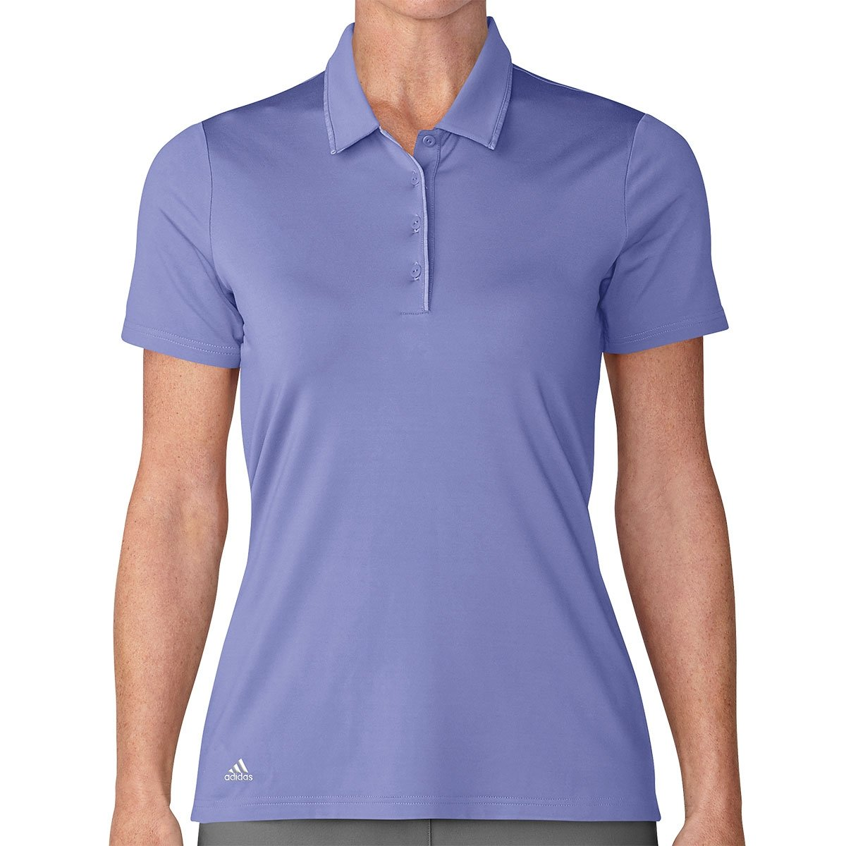 Adidas Womens 2018 Ultimate 365 Chalk Purple Polo