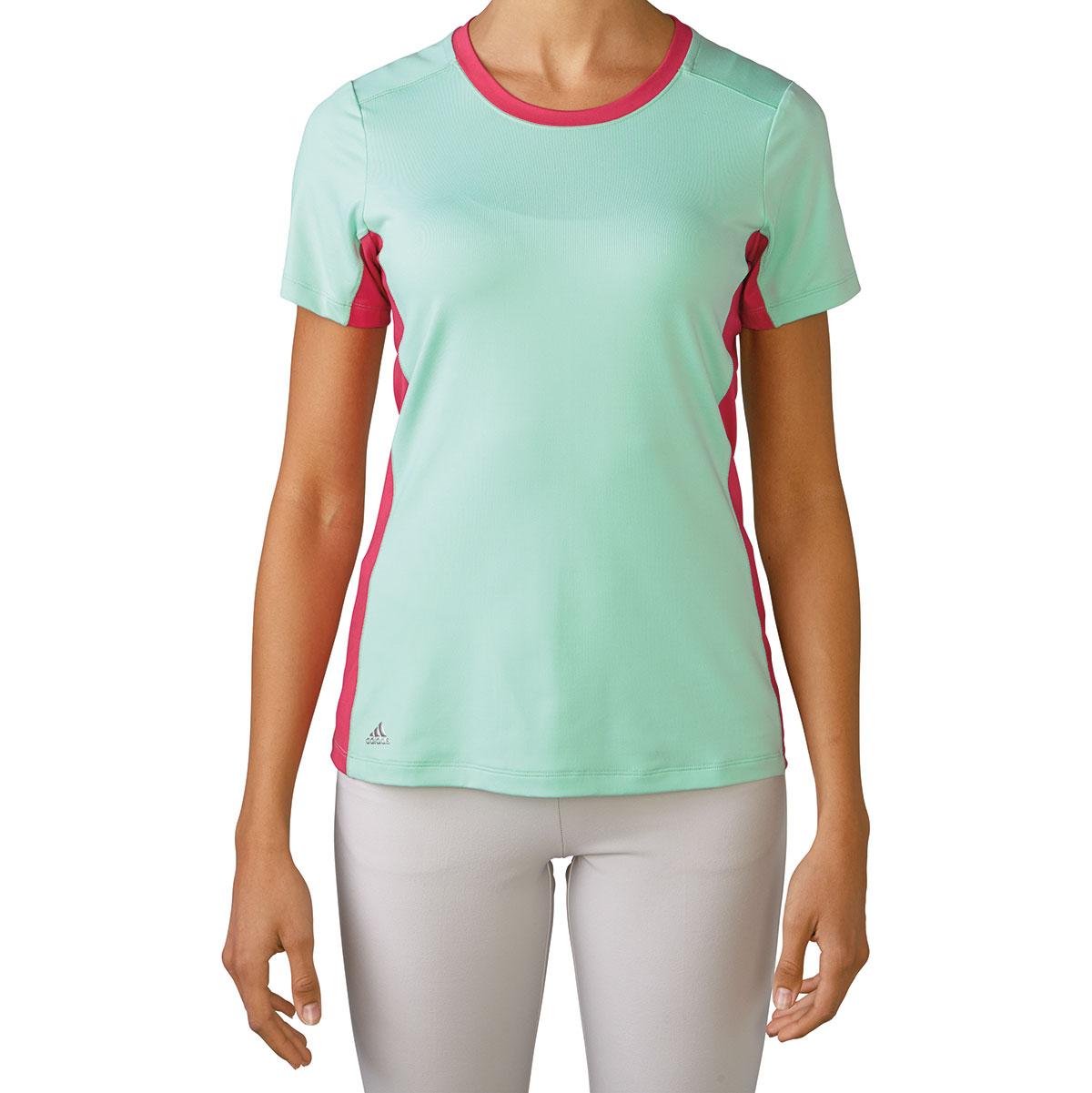Adidas Womens Adistar Rangewear Mint Crew Shirt