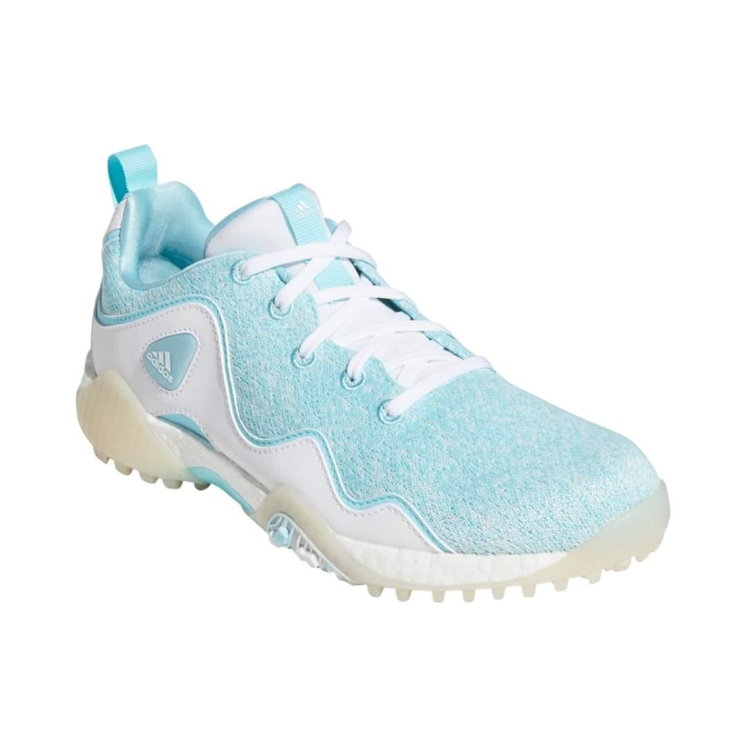 Adidas Women's CodeChaos 21 Primeblue Spikeless Golf Shoes - Sky