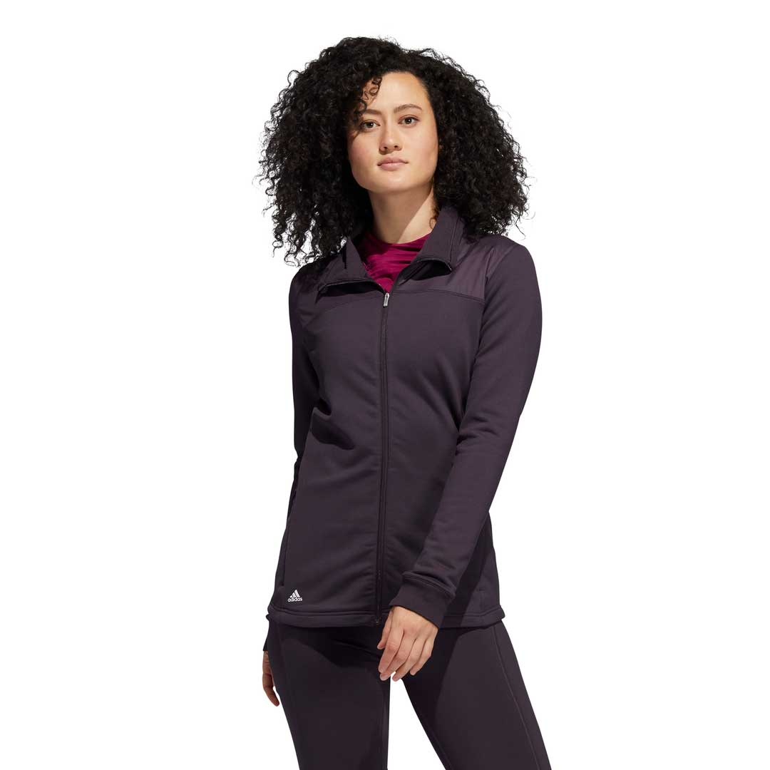 Adidas Women's COLD.RDY Full Zip Noble Purple Jacket