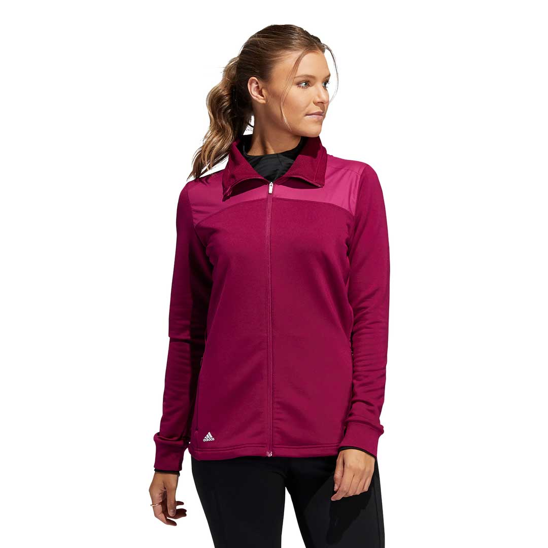 Adidas Women's Cold.RDY Full Zip Power Berry Jacket
