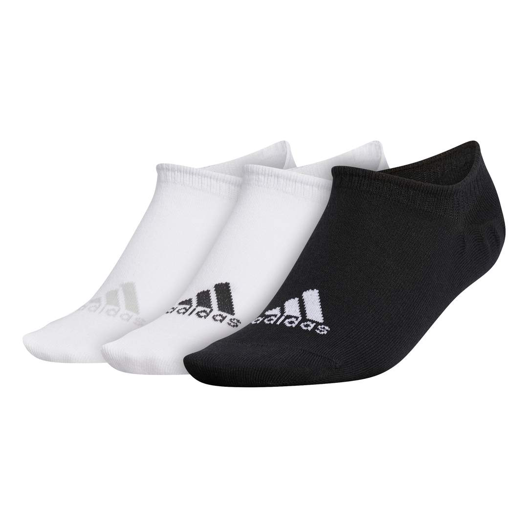Adidas Women's No-Show Liner 3-Pack Socks