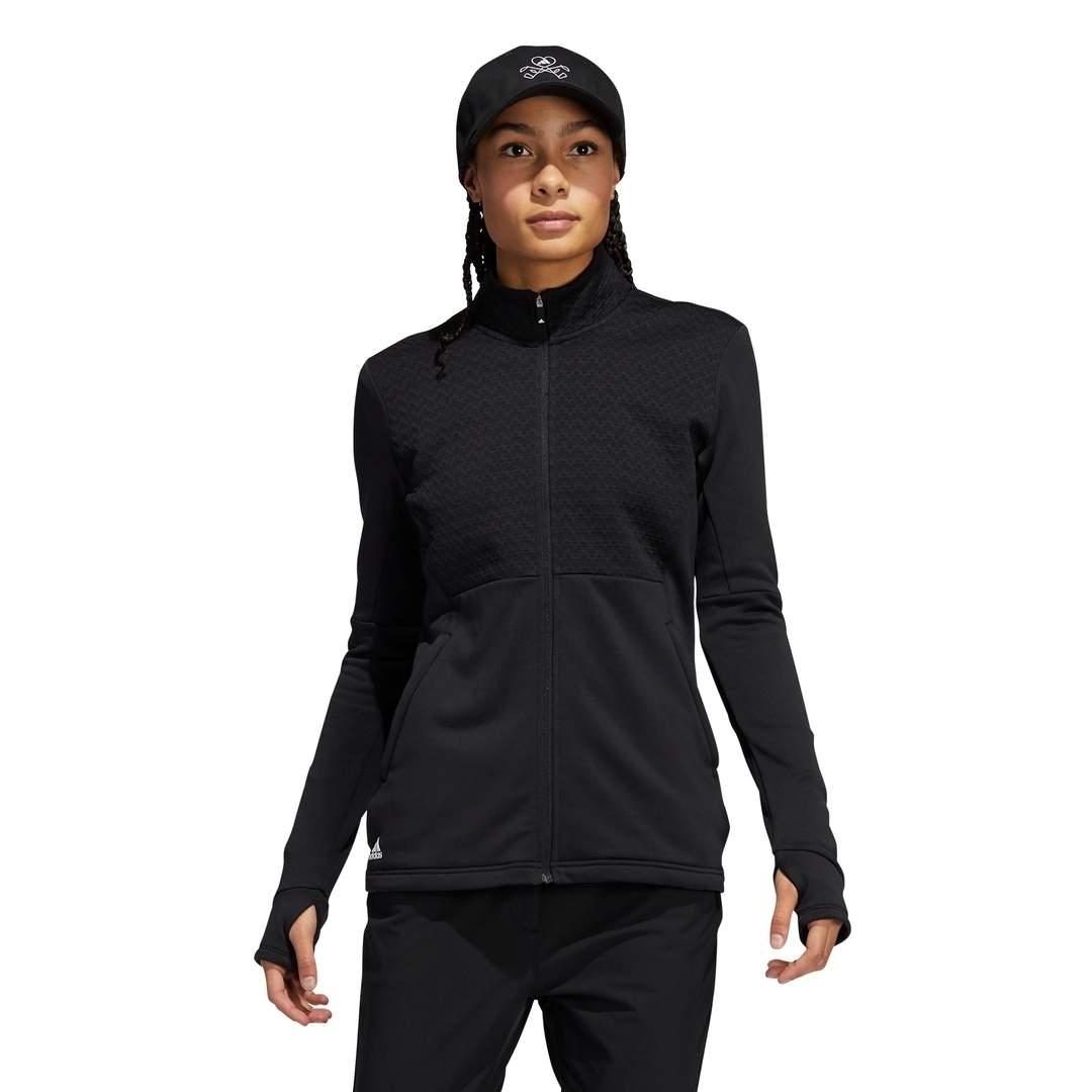 Adidas Women's Primegreen COLD.RDY Full-Zip Jacket - Black
