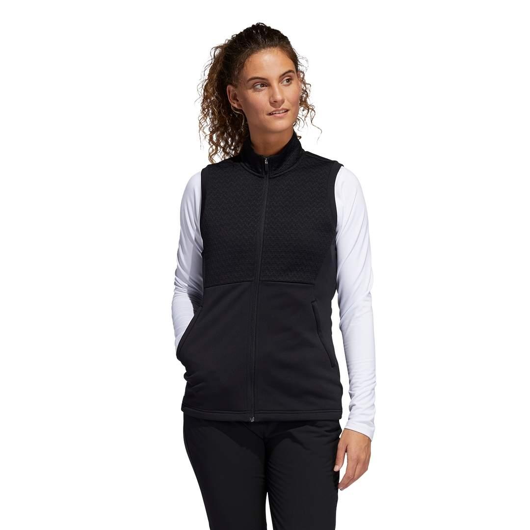 Adidas Women's Primegreen COLD.RDY Full-Zip Vest - Black
