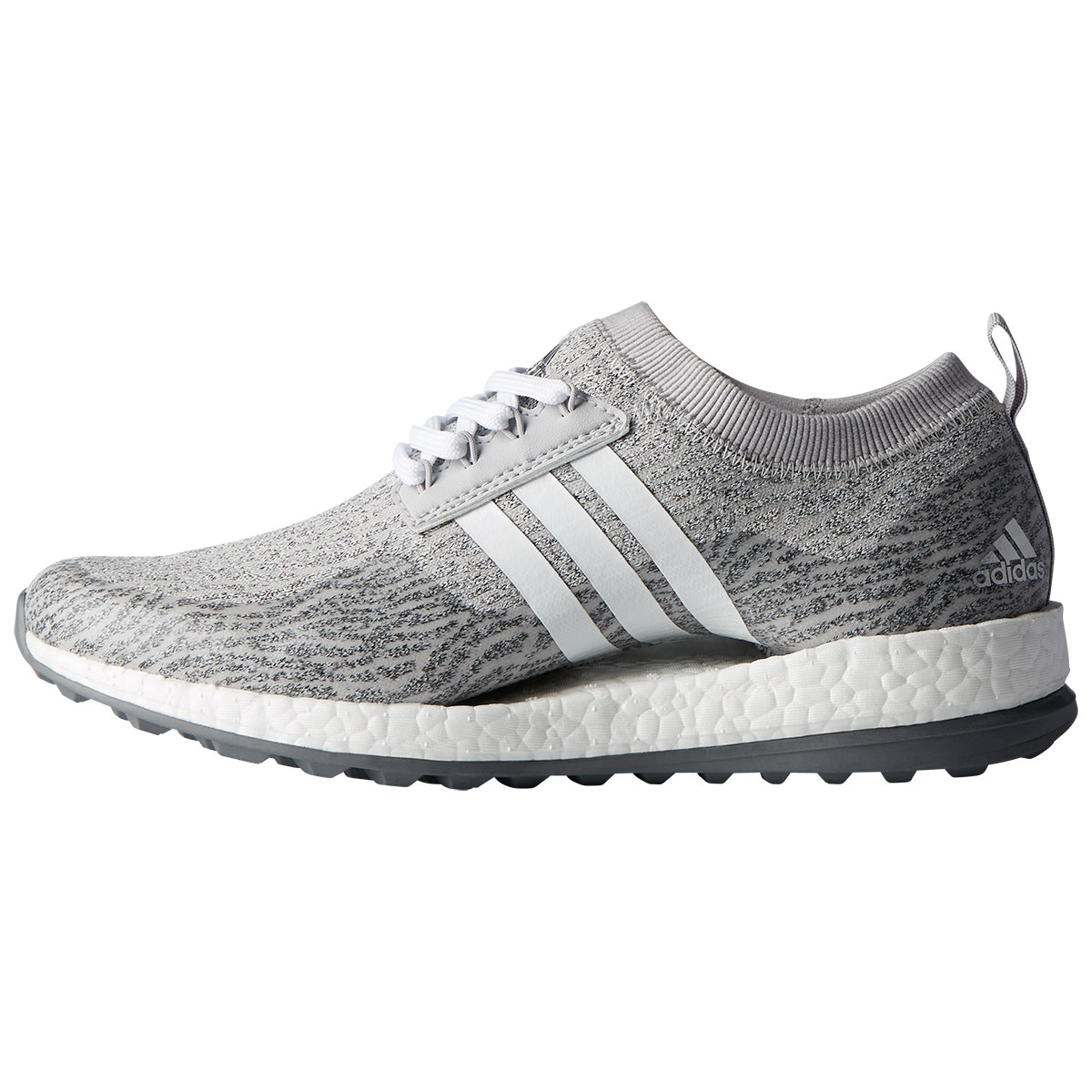 Adidas Womens Pure Boost XG Spikeless Golf Shoe - Grey