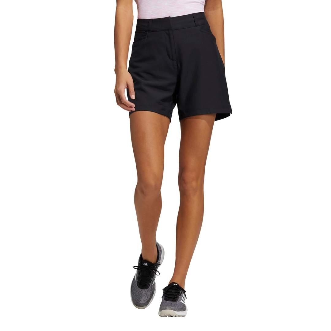 Adidas Women's Solid 5-Inch Shorts - Black