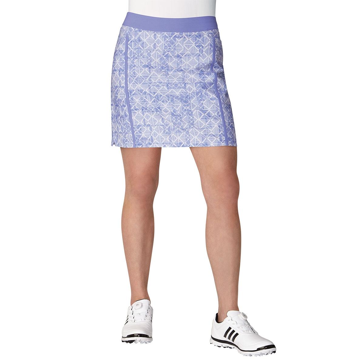 Adidas Womens Ultimate Adistar Printed Skort - Purple
