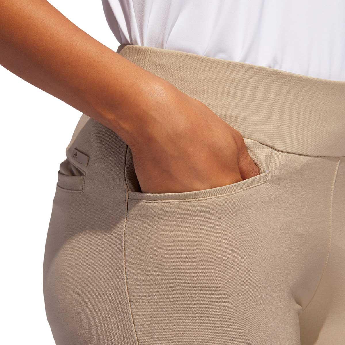 Adidas Women's Ultimate365 AdiStar Cropped Khaki Pant