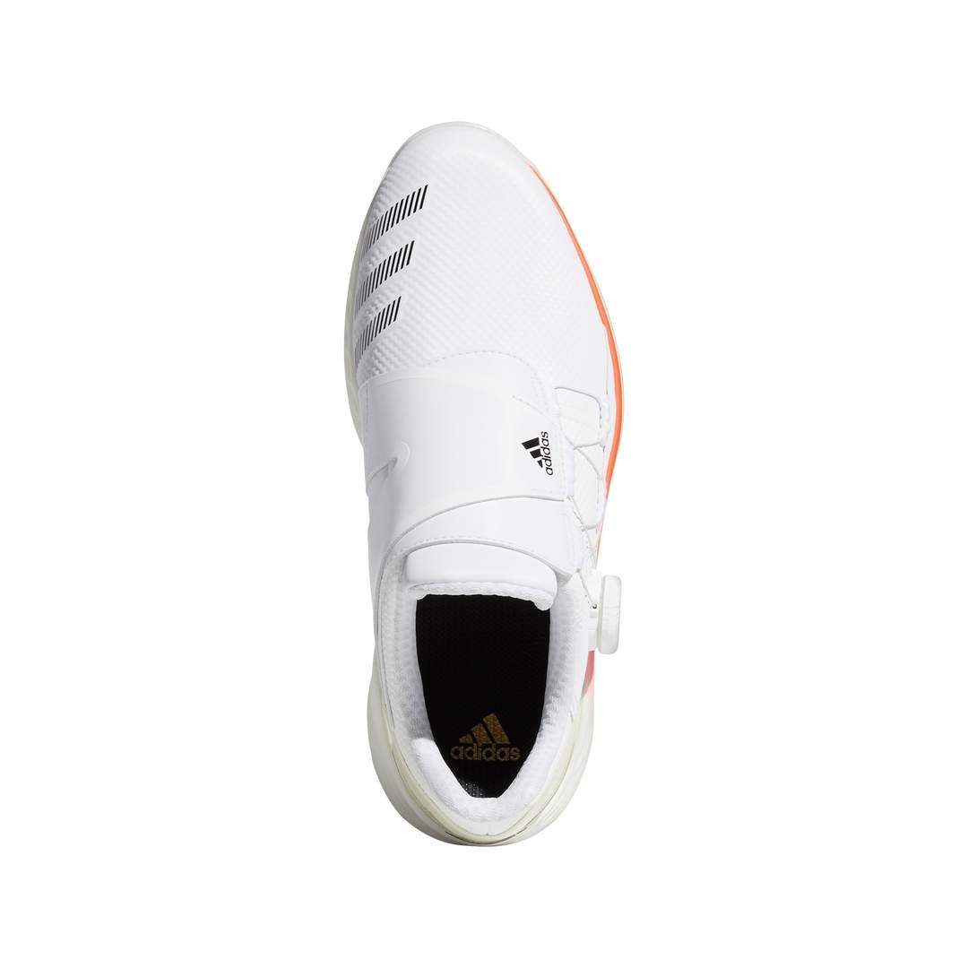Adidas Women's ZG21 BOA Tokyo Golf Shoe - White/Red