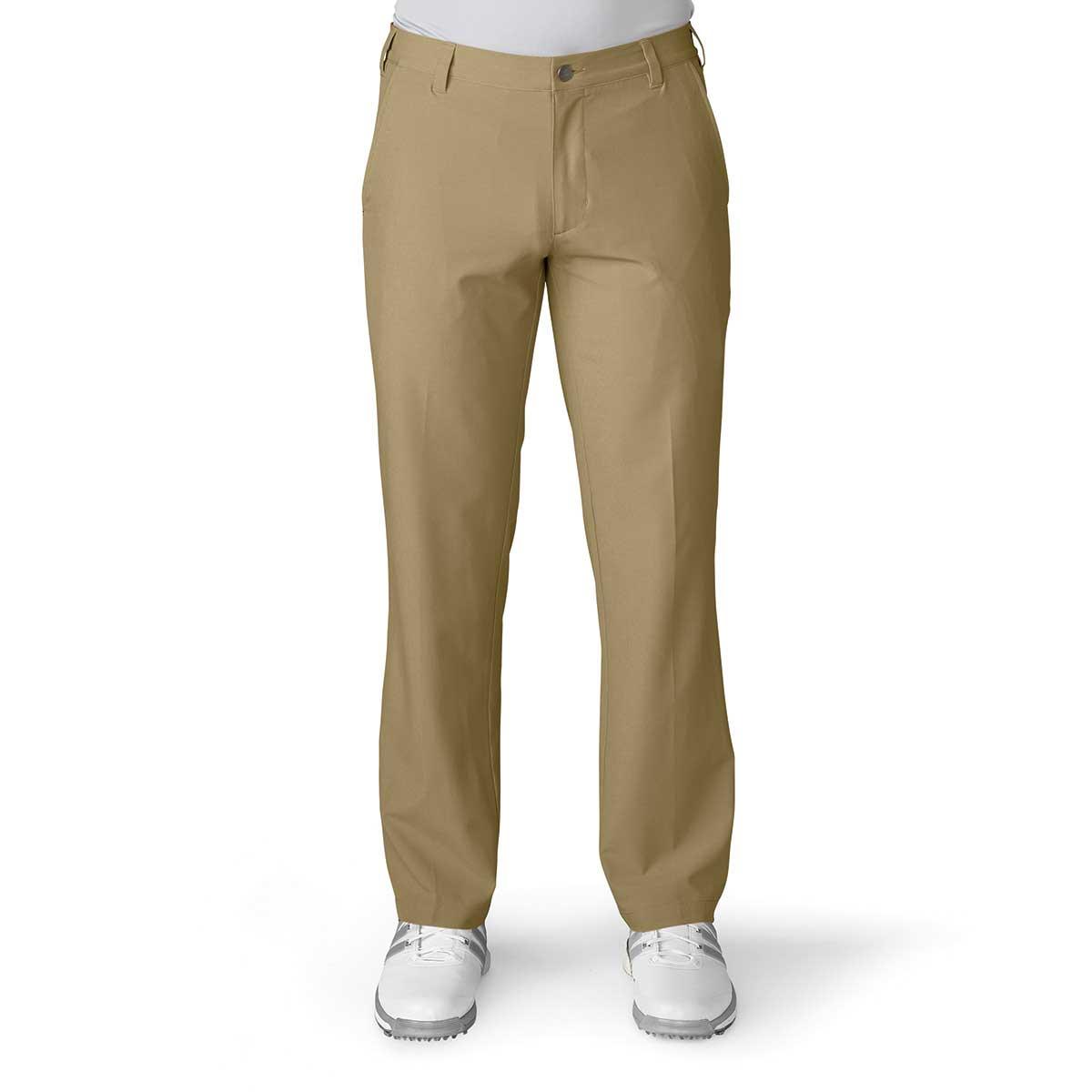 Adidas Ultimate 365 Flat Front Khaki Pant