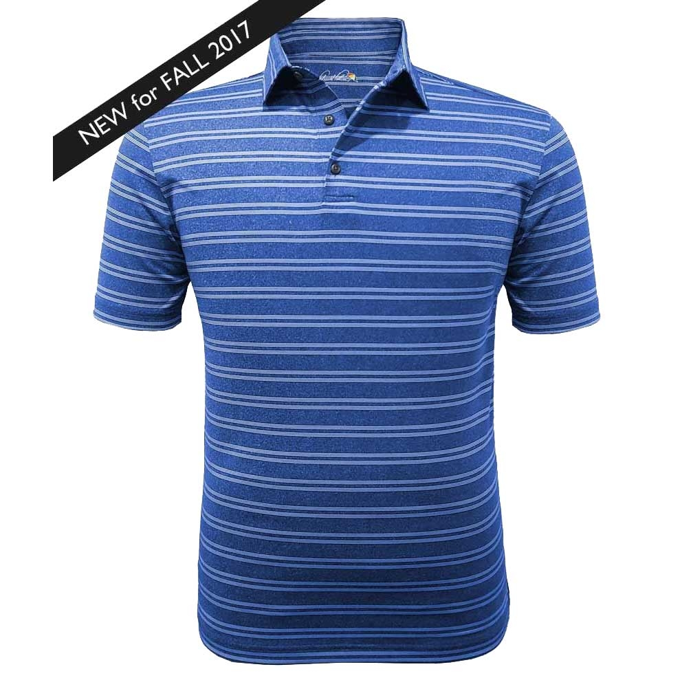 Arnold Palmer Mens PGA West Stripe Golf Polo