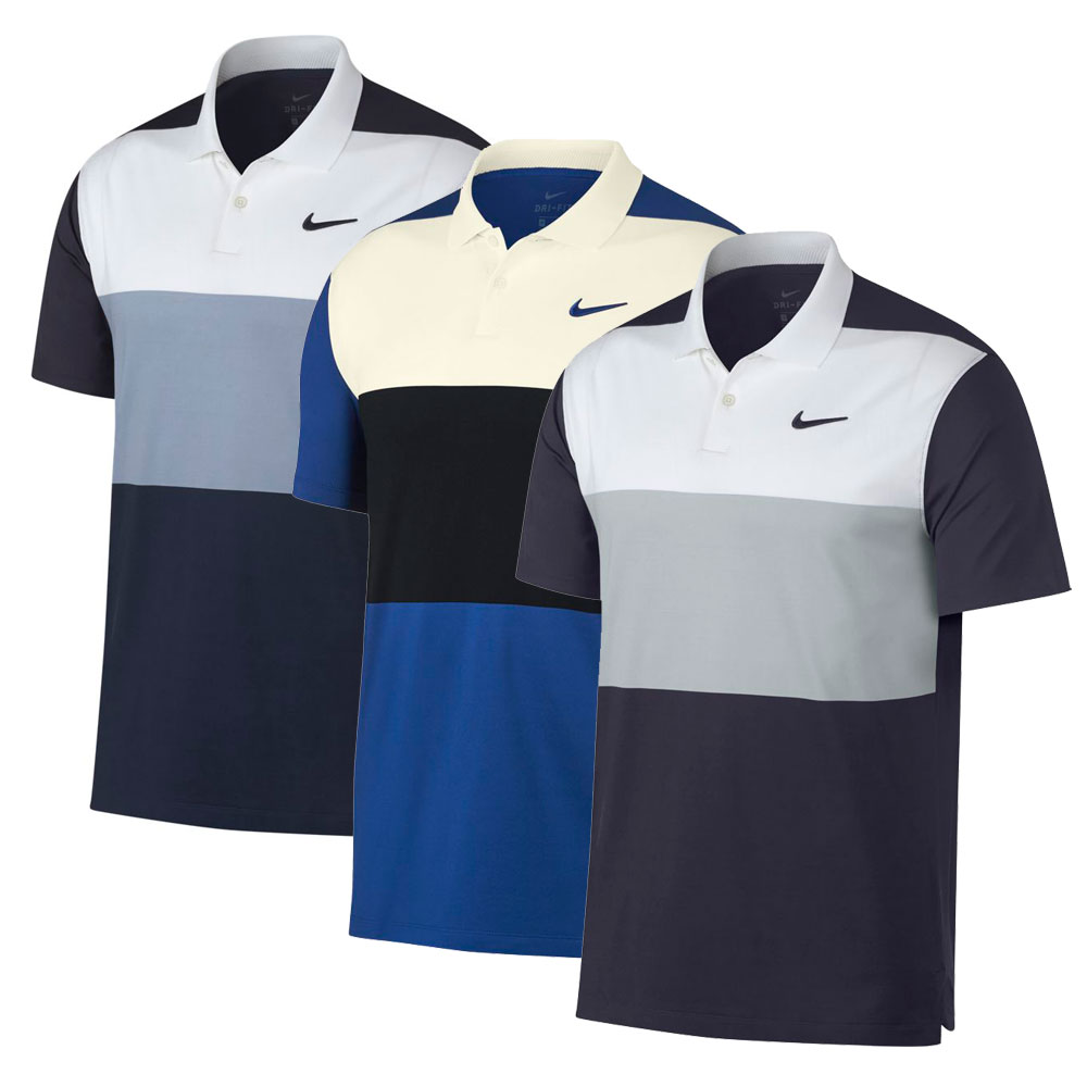 Nike Men's Dry Vapor Colorblock Polo