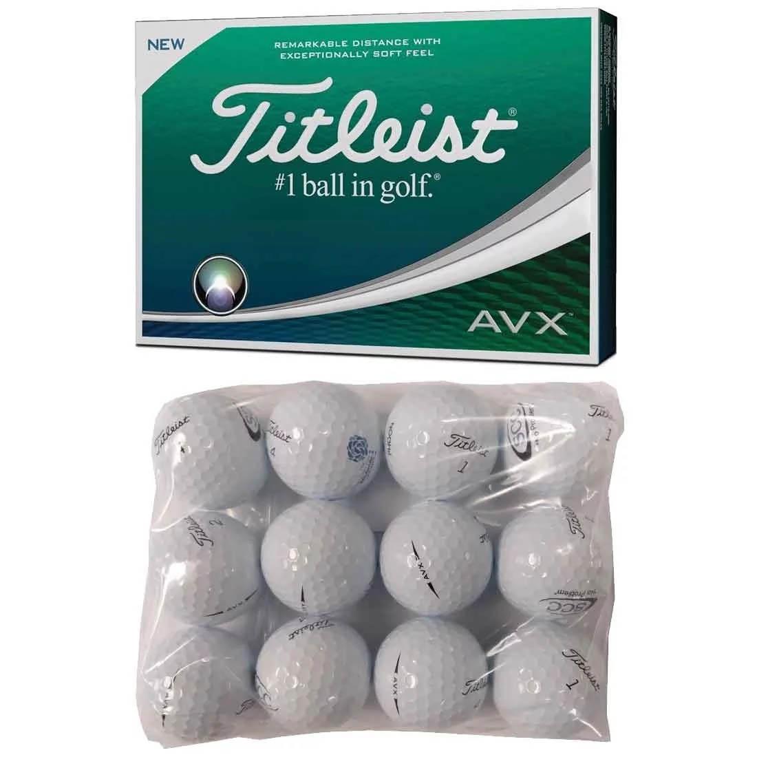 Titleist AVX Logo Overrun Golf Balls