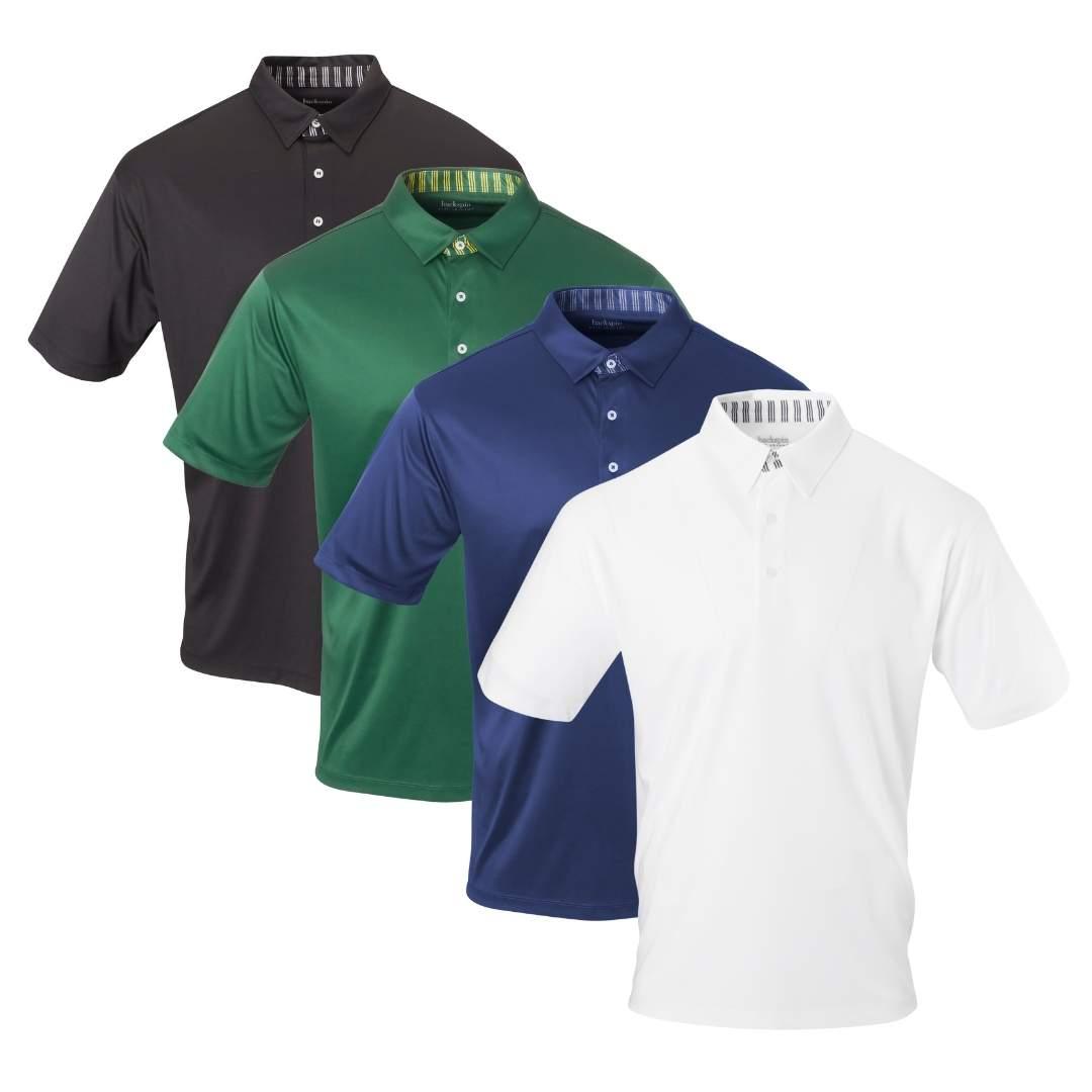 Backspin Golf Solid Polo