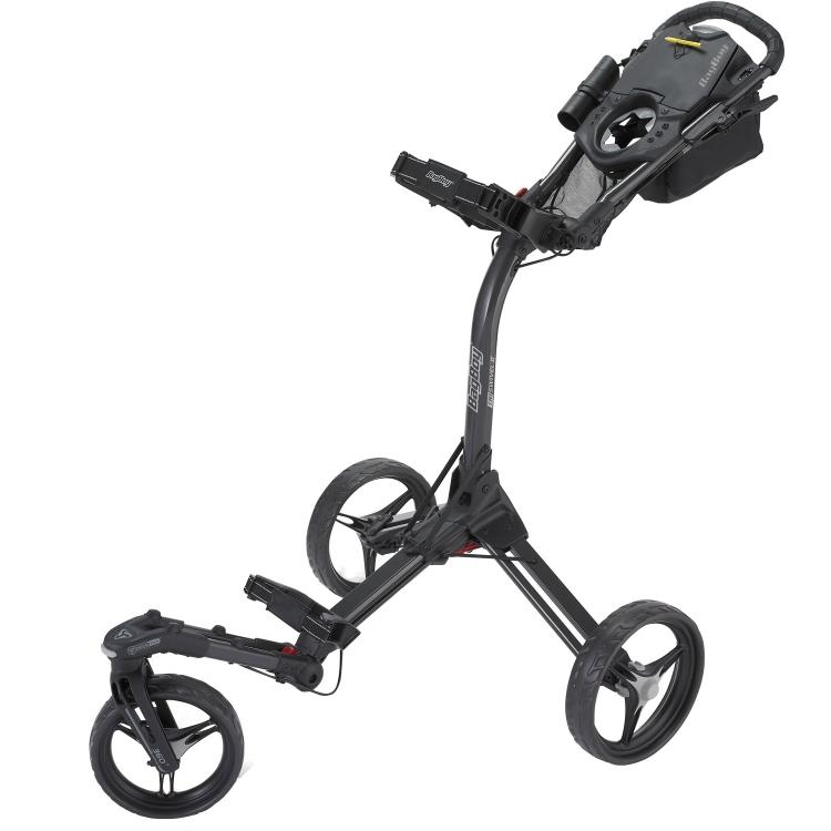Bag Boy TriSwivel II Push Cart Black