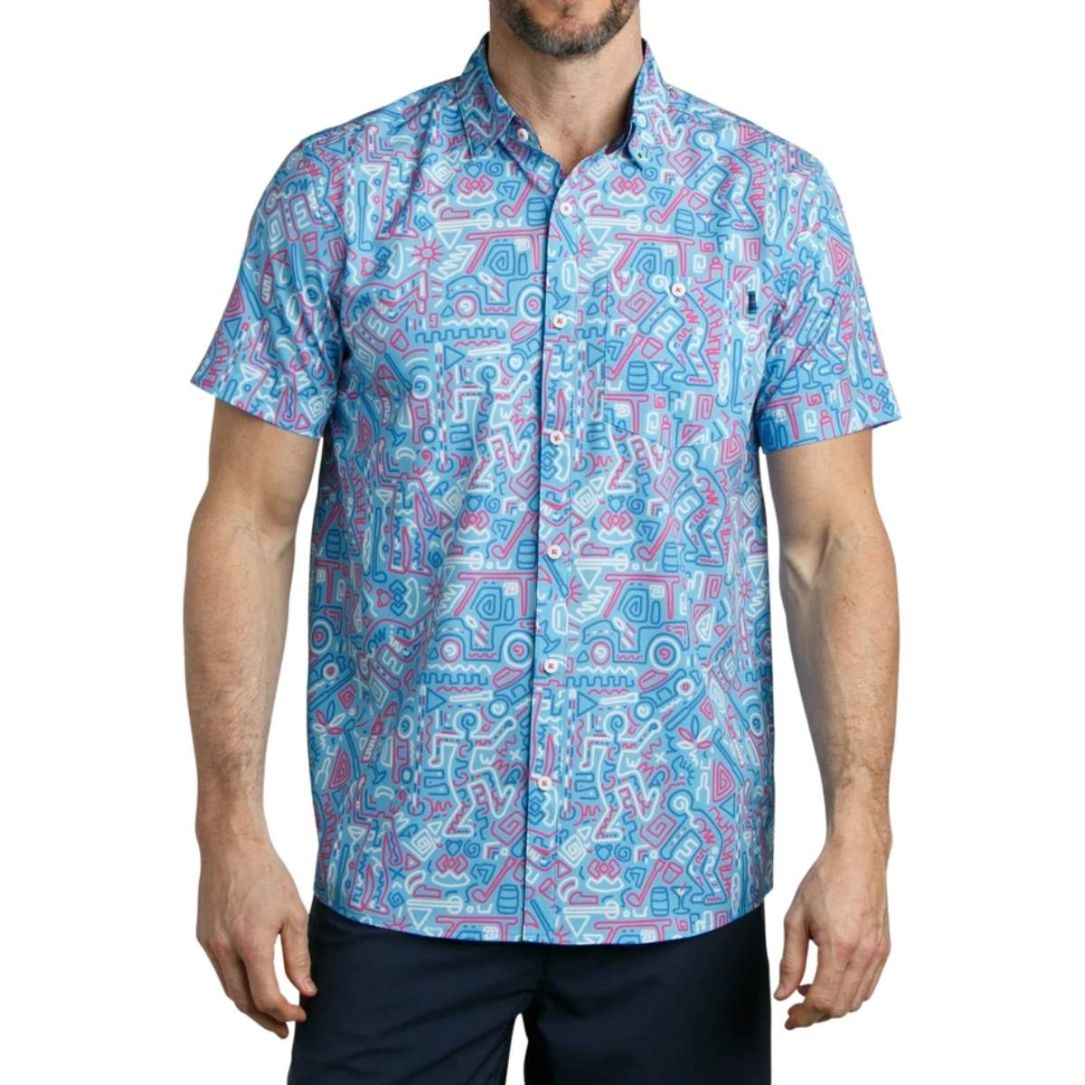 William Murray Behind the Lines Button Down Shirt